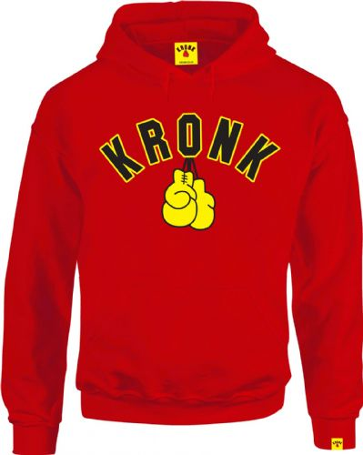 Kronk Boxing Gloves Hoody - Red